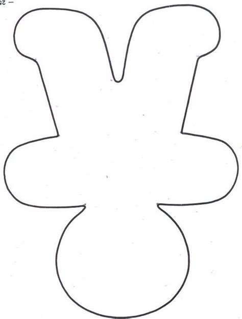 gingerbread decoration template search results for large gingerbread pattern