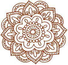 simple mandala henna style google search t shirt ideas