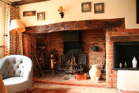 British Kitchen Design by 18th Century Country Cottage With Inglenook Fireplaces An