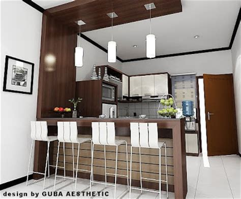 Kursi Mini Bar Dapur a e s t h e t i c kitchen set pantry
