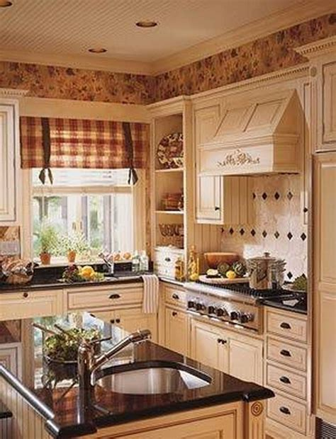 Ideas For Country Style Kitchen Cabinets Design Home Decor Small Country Kitchens Country Kitchen 8 K C R