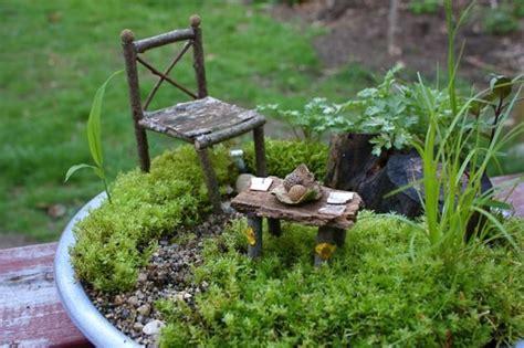 16 diy cute fairy garden and fairy garden furniture that