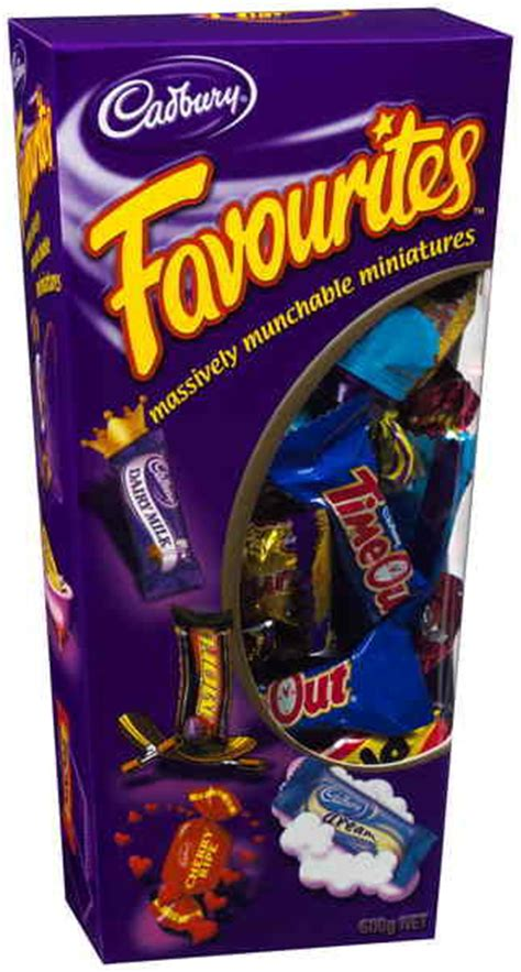 Cadbury Favourites cadbury favourites boxed reviews productreview au