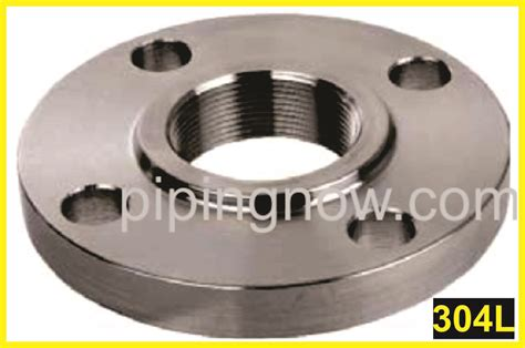 Flange Threded Stainless Steel 3 4 quot stainless steel threaded flange 150 raised rf