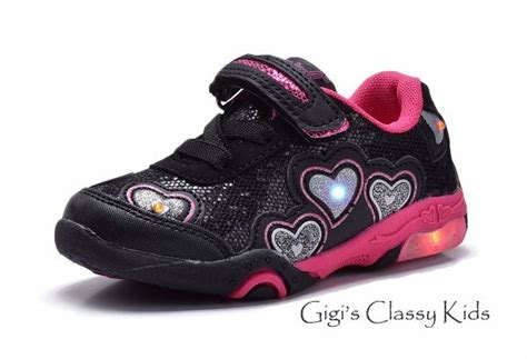 Led Shoes Glitter Pink new baby toddler led light up tennis shoes glitter