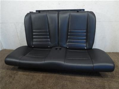 oem ford truck replacement seats replacement oem ford mustang black leather coupe rear seat