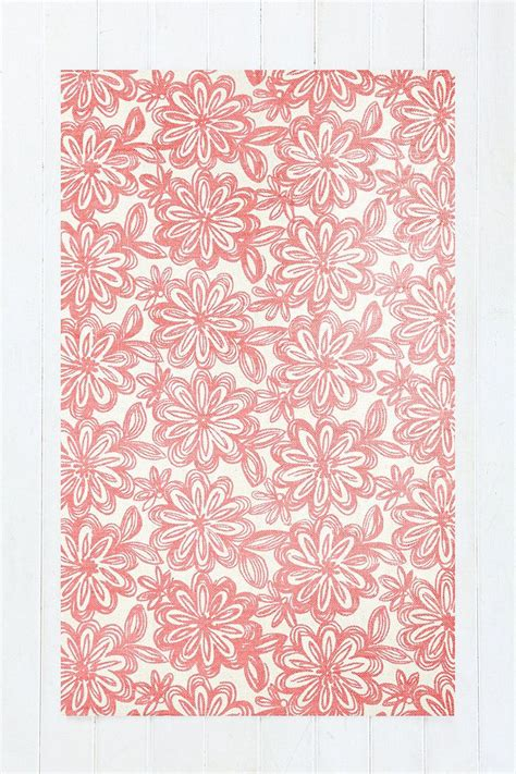 Outfitters Floral Rug by Floral 3x5 Rug In Pink Design