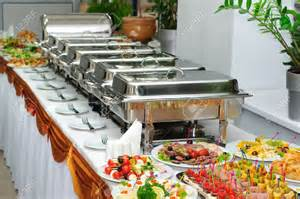 Wedding Table Linen Rental - chafing dishes stainless av party rental