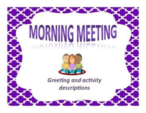 morning meetings for special education classrooms 101 ideas creative activities and adaptable techniques books morning meeting greetings and activities morning