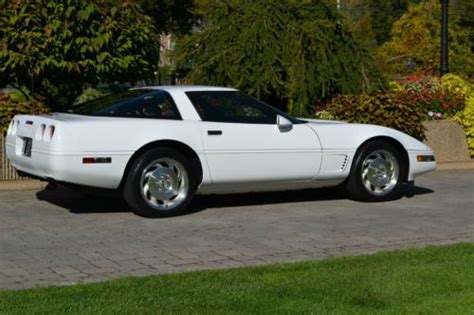 automobile air conditioning service 1995 chevrolet corvette free book repair manuals purchase used 1995 corvette 10 000miles 6 speed leather all stock and original show quality in
