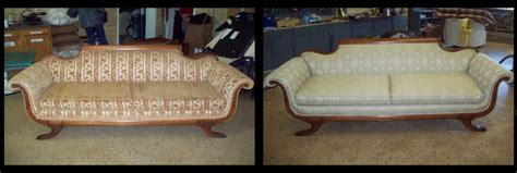 upholstery before and after before after photos of sofas reupholstery denver co