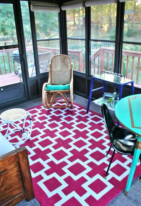 How To Paint An Indoor Outdoor Rug Hometalk How To Paint An Outdoor Rug