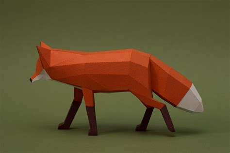 fantastic geometric animal sculptures created entirely