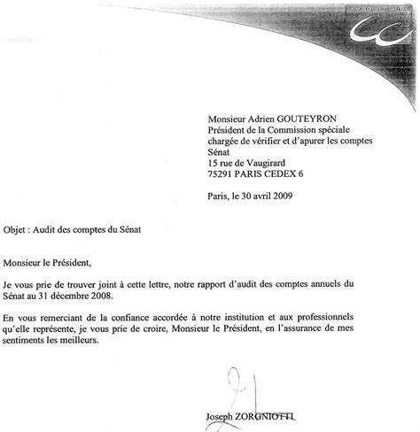 modele lettre resiliation mission comptable