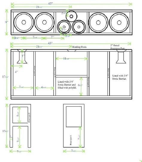 diy center channel speaker the true heavyweight chion