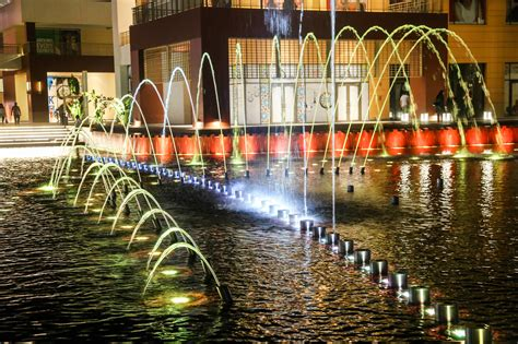 cairo festival city mall water features cairo egypt