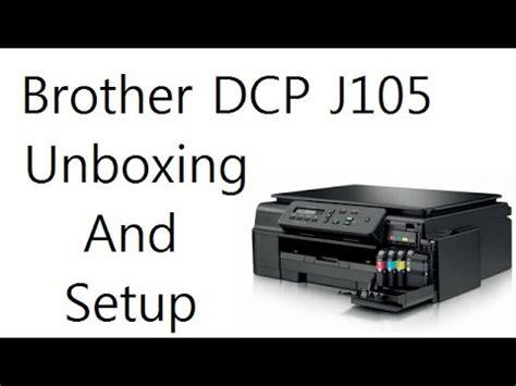 Dcp J105 Printer Scanner mfc j200 wireless setup cara set wifi pada