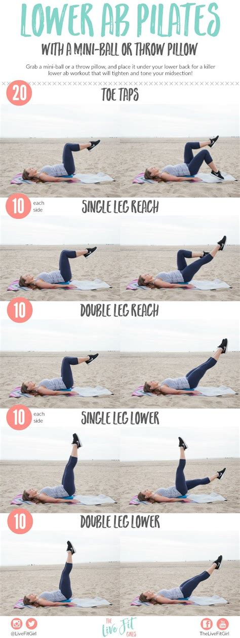 lower ab pilates with a mini how i fuel my workouts lower abs minis and workout