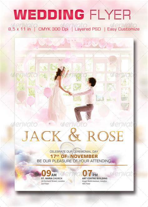 Wedding Flyer by 24 Wedding Flyer Templates Psd Vector Eps Jpg