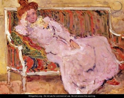 sofa painting woman on a sofa 1901 leon de smet wikigallery org the