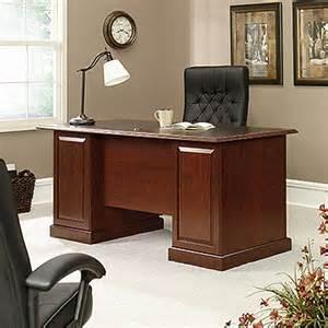 Sauder Executive Office Desks Heritage Hill Executive Desk 402159 Sauder
