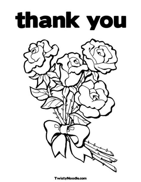 thank you coloring pages thank you coloring pictures 171 coloring