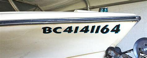 vinyl boat registration numbers canada vinyl lettering custom vinyl boat lettering boat