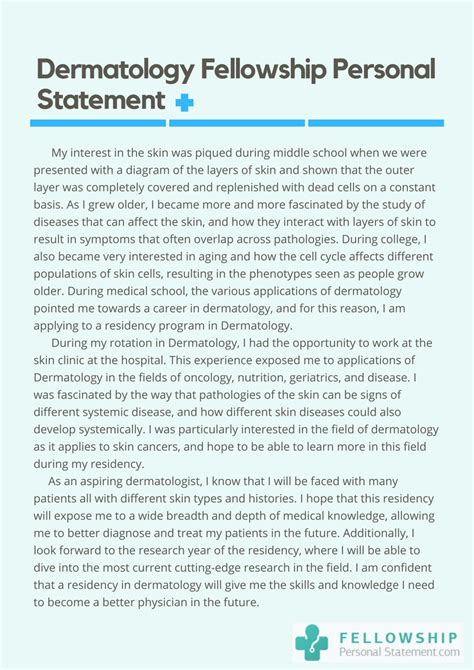 Dermatologist Career Essay by Dermatology Personal Statement