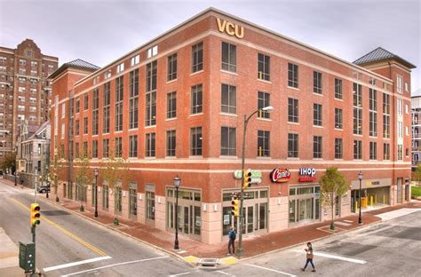 vcu housing west grace student housing and laurel parking virginia commonwealth university wdg