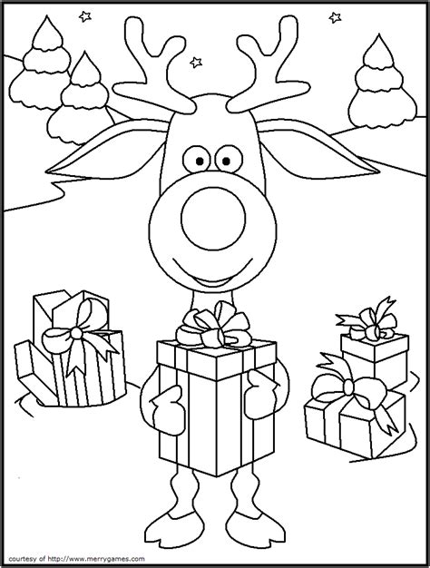 Merry Christmas Card Coloring Page Getcoloringpages Com Card Templates To Color