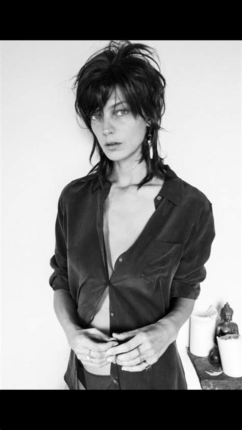 does daria werbowy has long layers in her haircut 144 best new hair images on pinterest natural updo