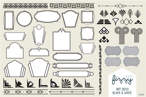 Art Deco Design Elements Vector | 40 remarkable art deco designs resources inspirationfeed