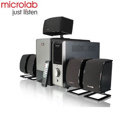 microlab x 23 powerful 5 1 home theater subwoofer speaker
