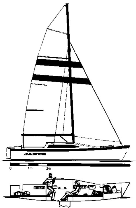Simple Home Plans To Build janus 22 simple trailable catamaran by woods designs