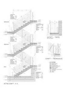 treppe schnitt bauko architecture