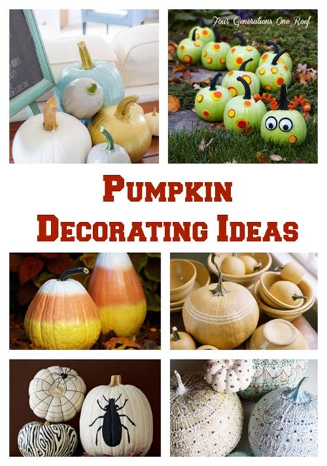 The Best Pumpkin Decorating Ideas by Pumpkin Decorating And Painting Family Crafts Crafts Rachael Edwards