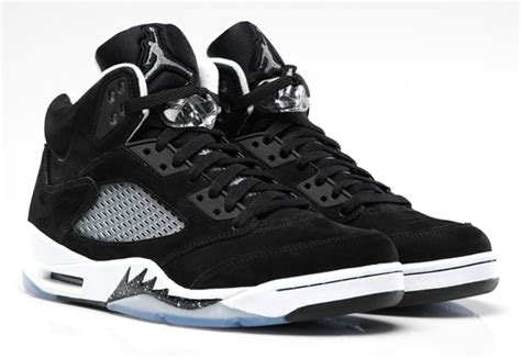 Air V Oreo air 5 quot oreo quot official images sneakernews