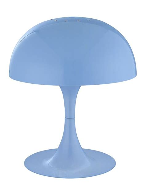 blue style table ls lite source ls 21095blu blue mini table l metal shade