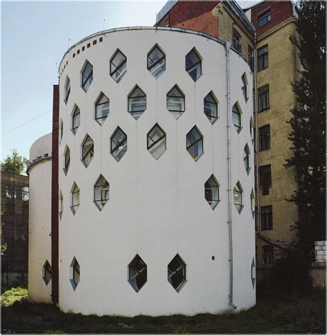 melnikov house 3 e architect
