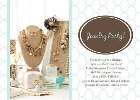 jewelry party online invitations cards by pingg com