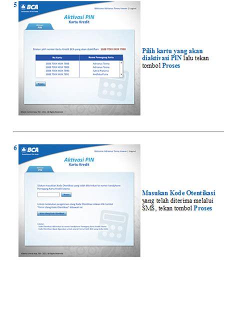 cara membuat kartu kredit di facebook berbagi informasi cara aktivasi pin kartu kredit bca
