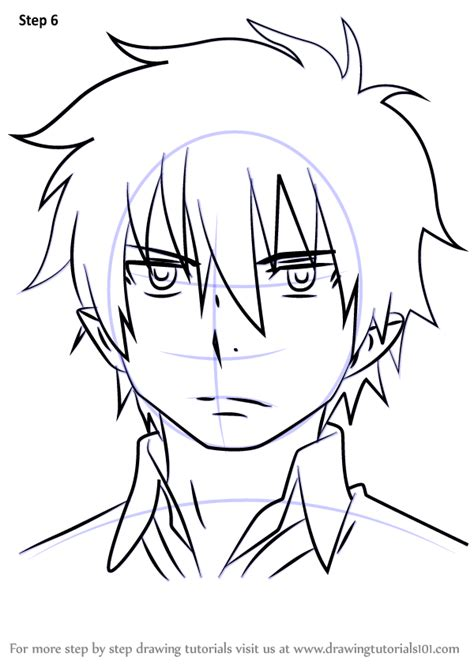draw free no step by step how to draw rin okumura from ao no exorcist