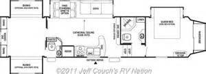 cedar creek fifth wheel floor plans 2012 cedar creek silverback 35qb4 5th wheel silver edition