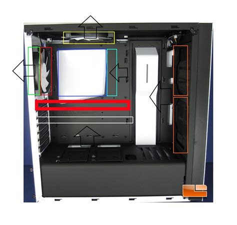 nzxt s340 fans nzxt s340 airflow question cases and power supplies