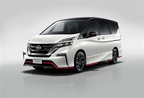 nissan minivan nissan serena minivan gets nismo treatment for