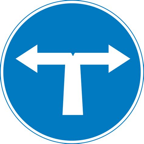 st on left or right file cyprus road sign mandatory left or right svg