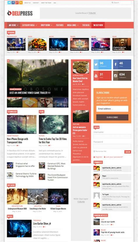 60 free yet premium quality wordpress magazine news themes 60 best adsense optimized wordpress themes 2017