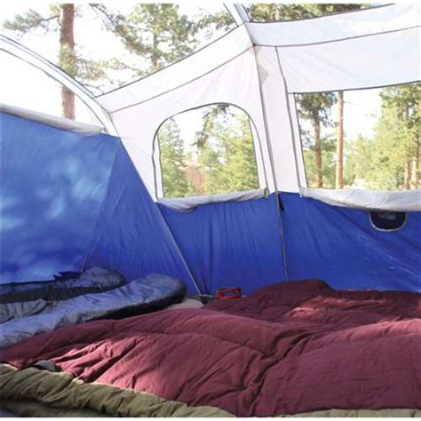 coleman tent with screen room coleman 11 x 9 elite weathermaster lighted tent w screen room 2000027947 used