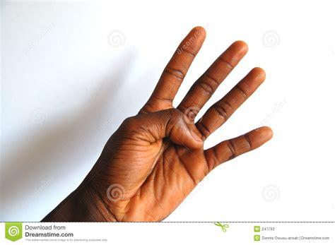black hand black hand four stock image image of slap four friendly