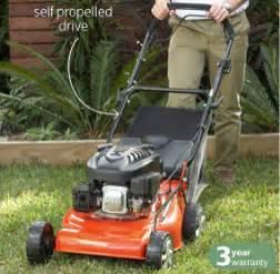 lawn mowers aldi gardenline aldi petrol mower reviews productreview au